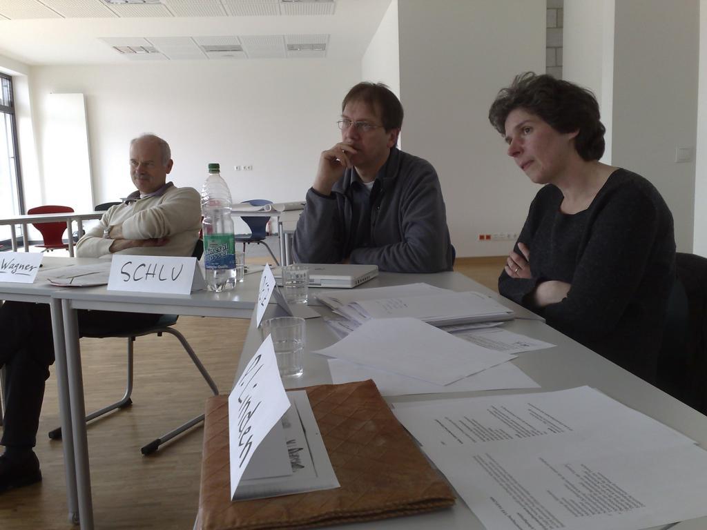 Peter Wagner, Martin Schlu, Petra Dietz